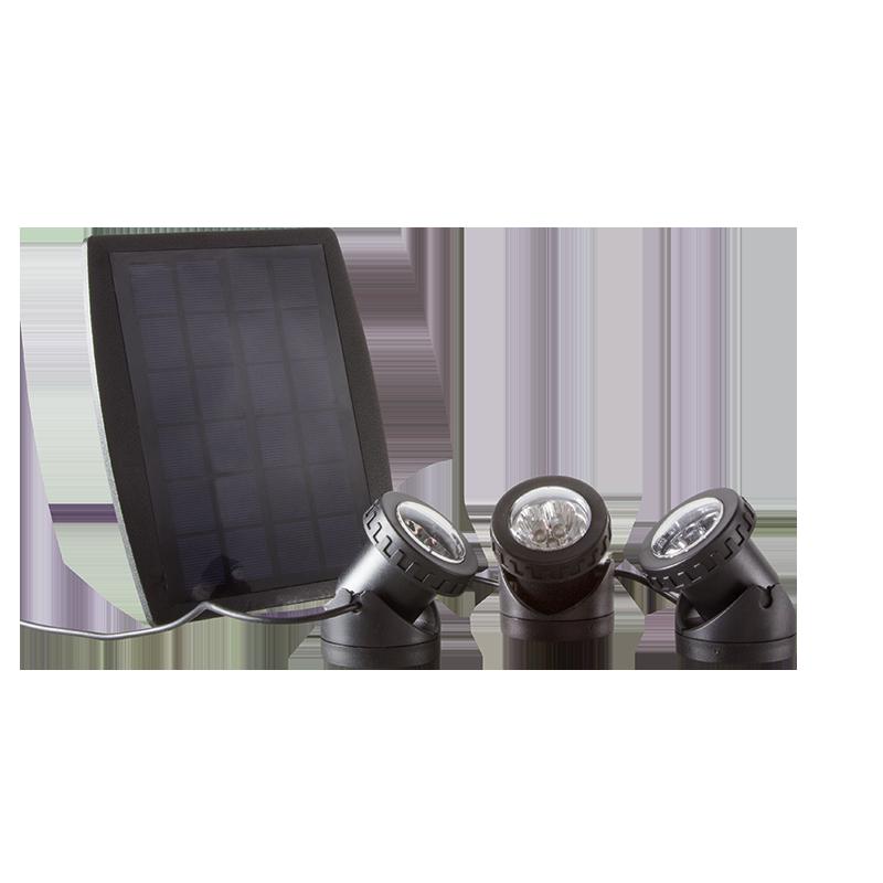 logilink produkt wasserdichte solar led strahler. Black Bedroom Furniture Sets. Home Design Ideas